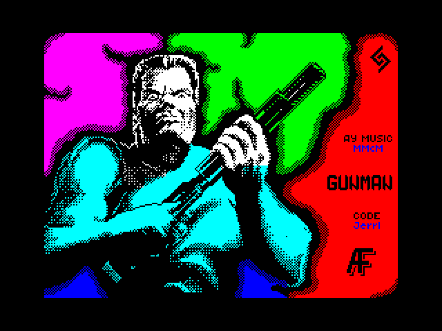 Gunman screen
