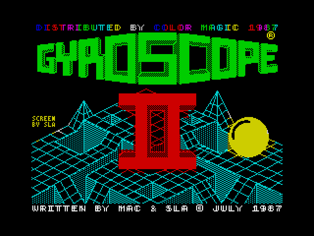 Gyroscope II screenshot