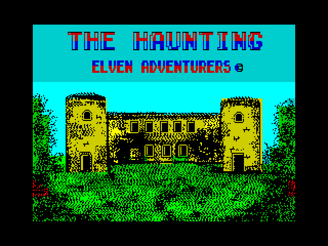 The Haunting screen