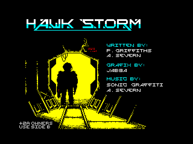 Hawk Storm screen