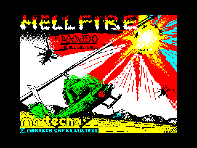 Hellfire Attack image, screenshot or loading screen