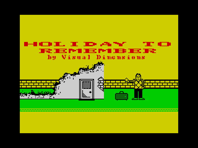 A Holiday to Remember screenshot