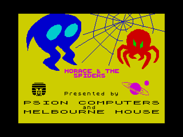 Horace & the Spiders image, screenshot or loading screen