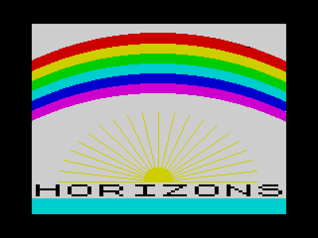 Horizons screen