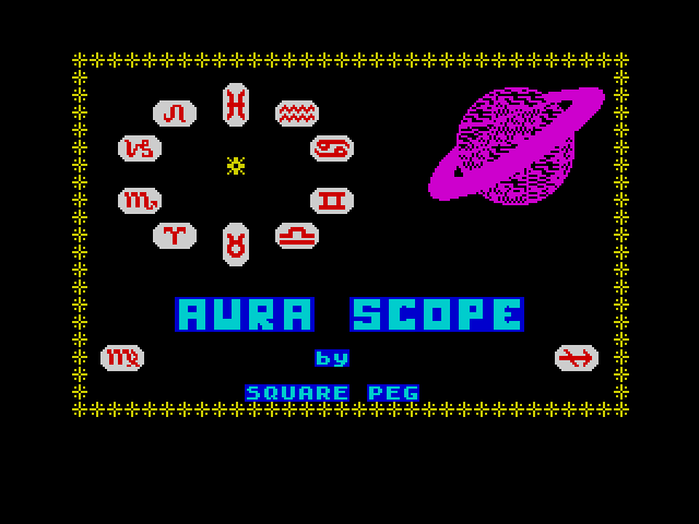 Horrorscope screen
