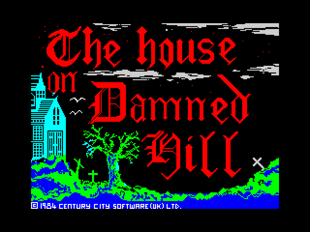 The House on Damned Hill screen