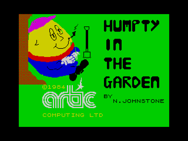 Humpty Dumpty in the Garden screenshot