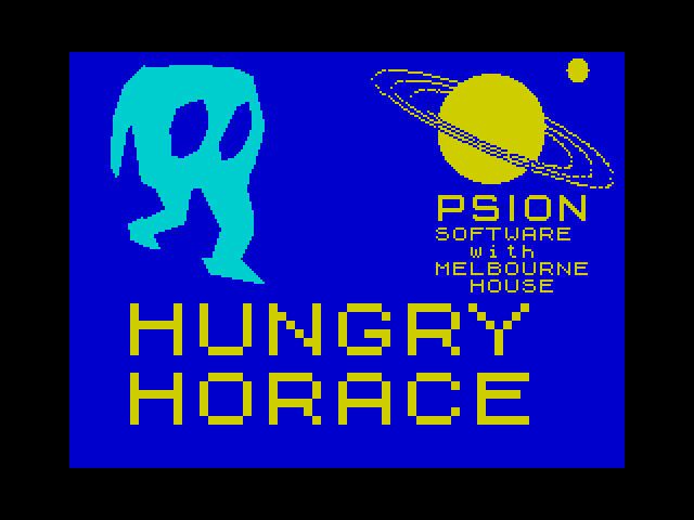 Hungry Horace screenshot