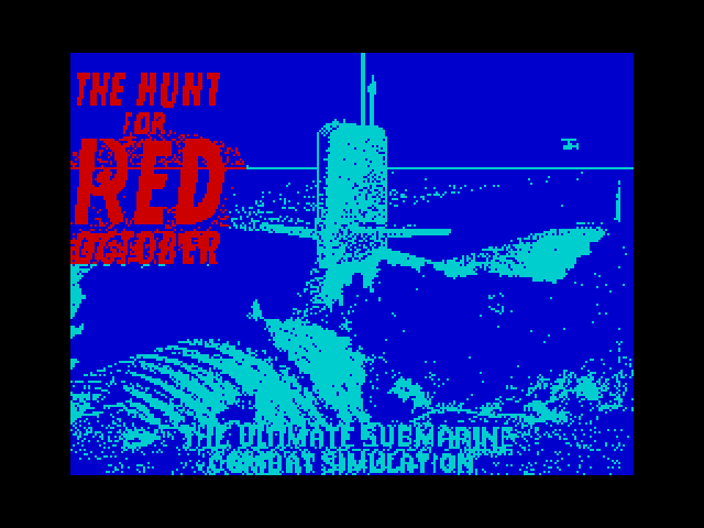 The Hunt for Red October - Based on the Book screenshot