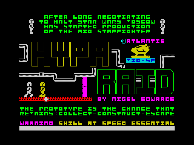 Hypa Raid screenshot