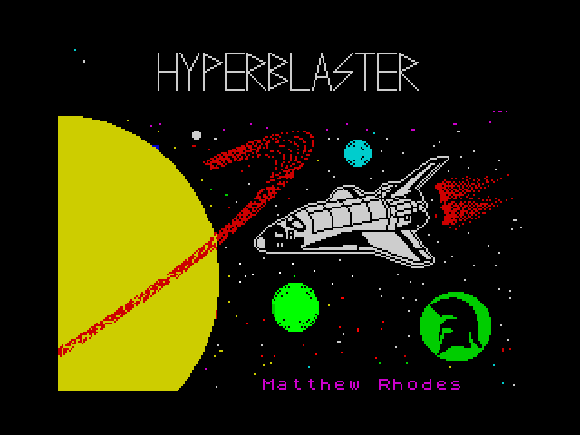 Hyperblaster screenshot