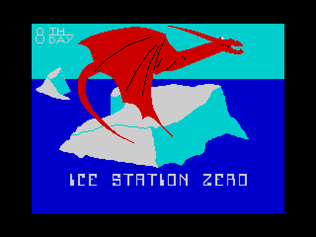 Ice Station Zero screen