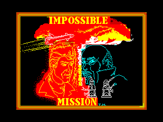 Impossible Mission screen