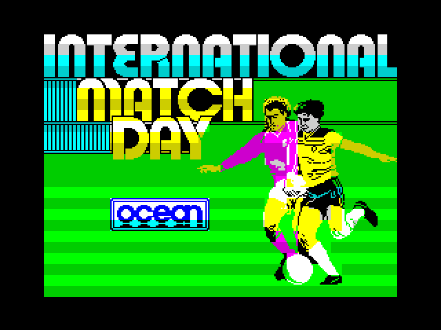 International Match Day image, screenshot or loading screen