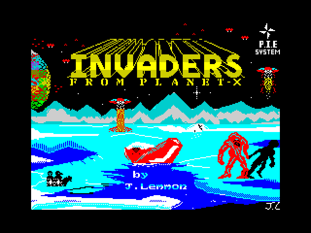 Invaders from Planet X screen