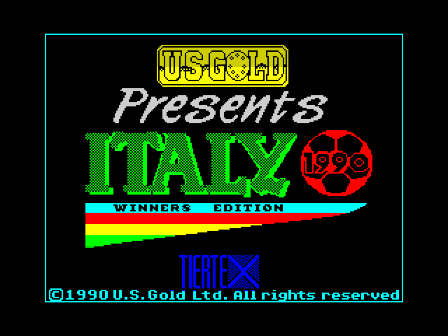 Italy 1990 - Winners Edition image, screenshot or loading screen
