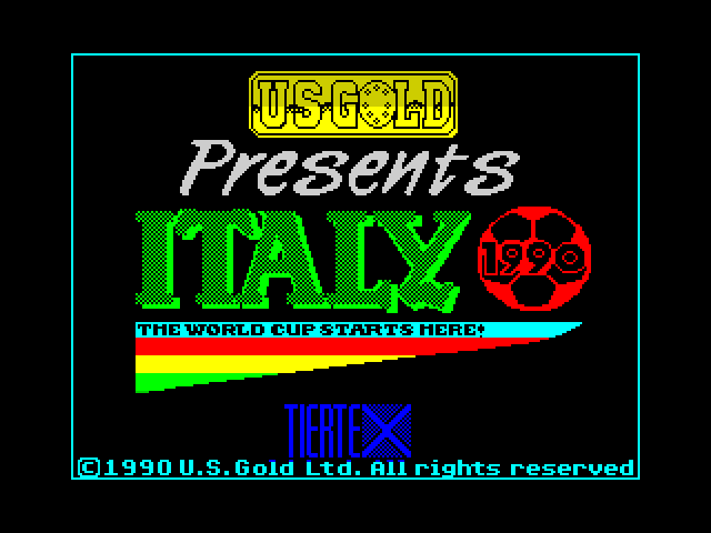 Italy 1990 screenshot