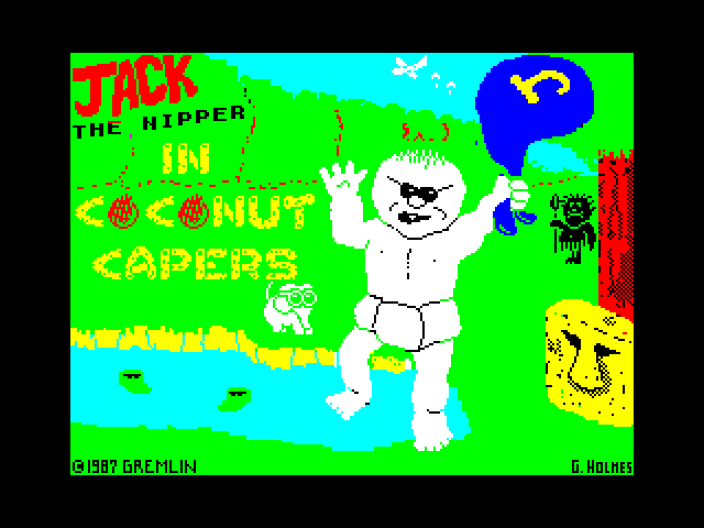 Jack the Nipper II: In Coconut Capers screenshot