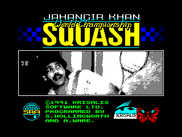Jahangir Khan's World Championship Squash image, screenshot or loading screen