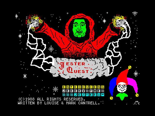 Jester Quest screen
