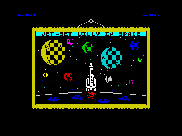 [MOD] Jet-Set Willy in Space screen