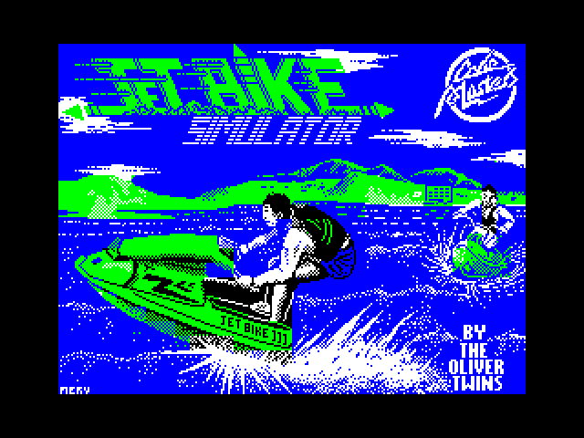Jet Bike Simulator screen