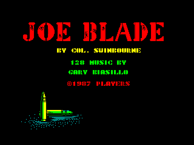 Joe Blade screen