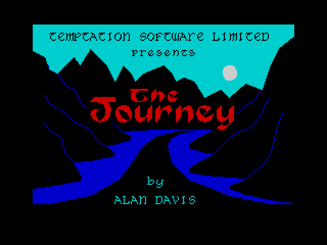 The Journey screen