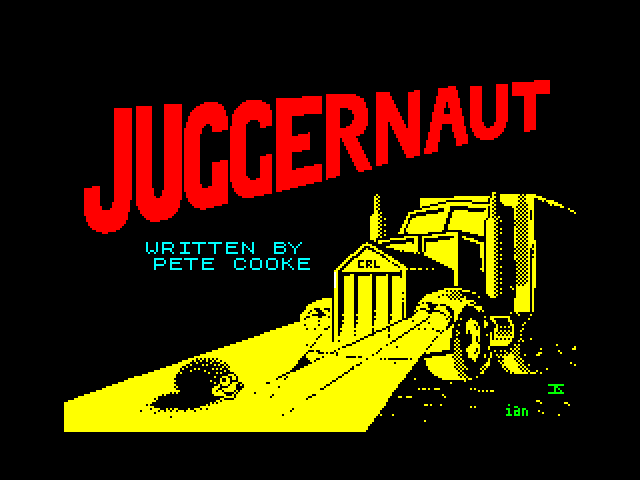 Juggernaut image, screenshot or loading screen