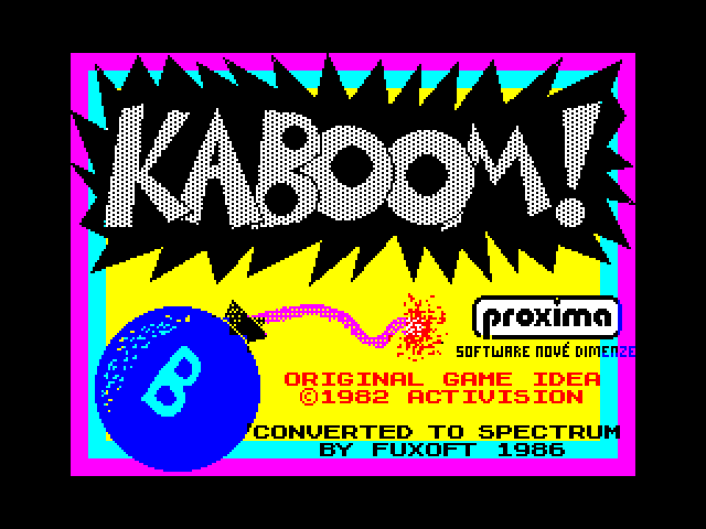 Kaboom! image, screenshot or loading screen