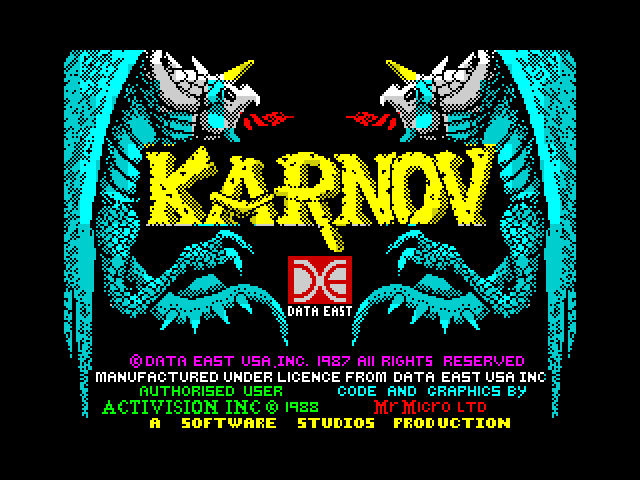 Karnov image, screenshot or loading screen