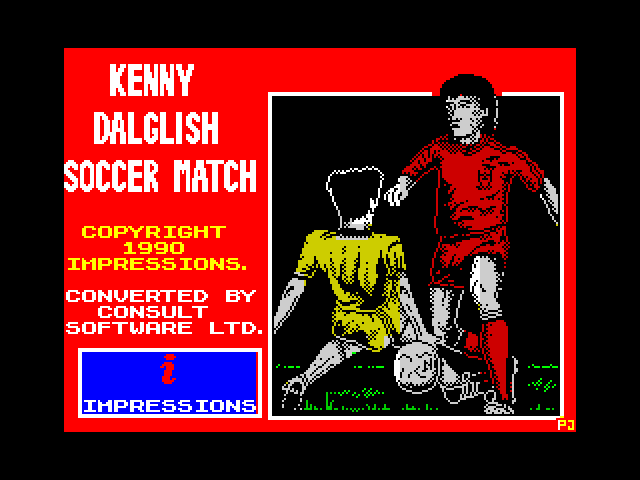Kenny Dalglish Soccer Match screen