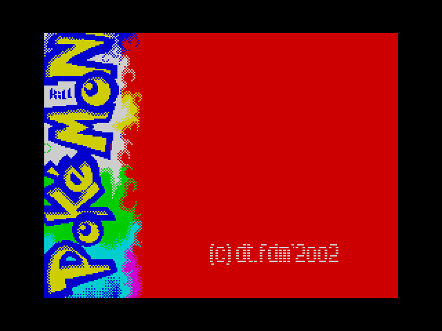 Kill Pokemon screen