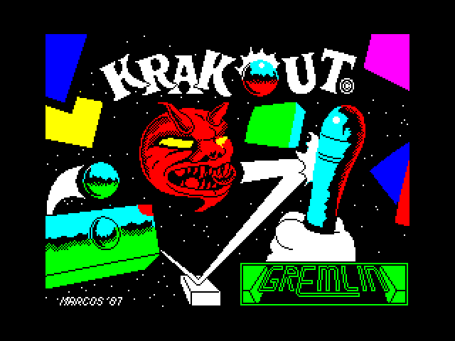 Krakout screenshot