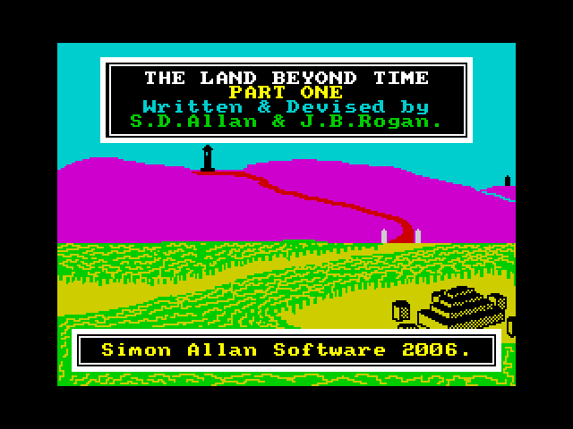 The Land Beyond Time screen