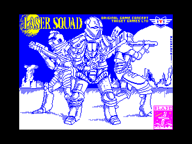 Laser Squad screen