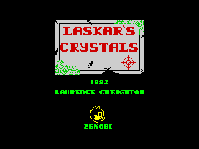 Laskar's Crystals screen