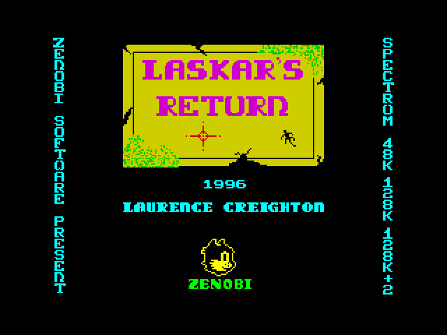 Laskar's Return screen