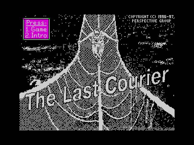 The Last Courier screen