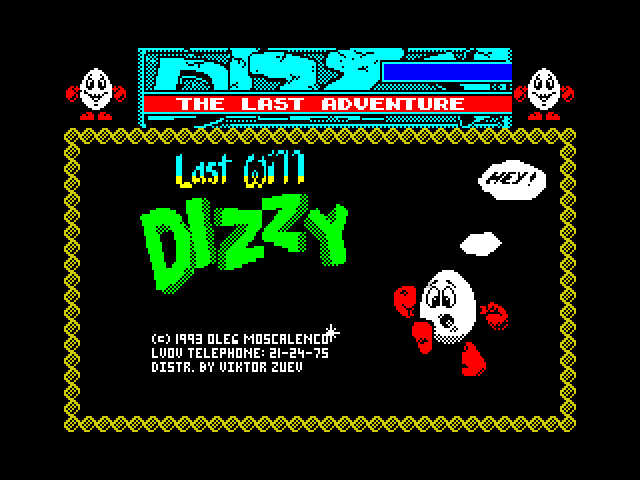 [MOD] Last Will Dizzy screen