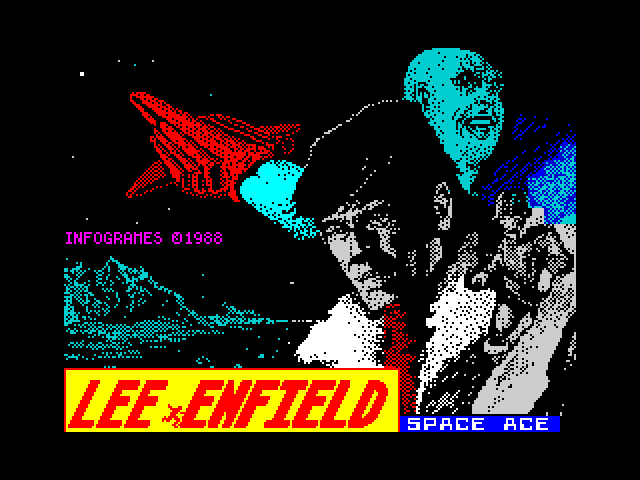 Lee Enfield Space Ace screen