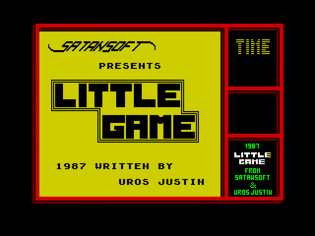 Little Game screen