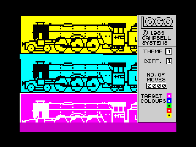 Loco screen