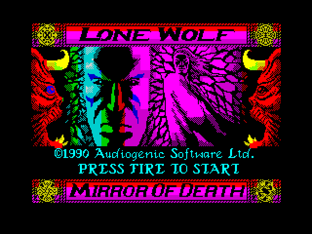 Lone Wolf - The Mirror of Death screen