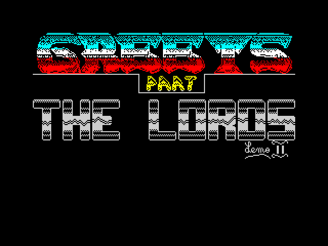 The Lords Demo 2 image, screenshot or loading screen
