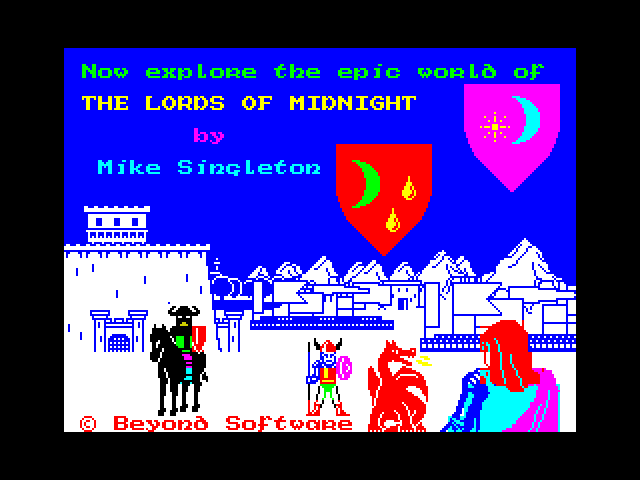 The Lords of Midnight screenshot