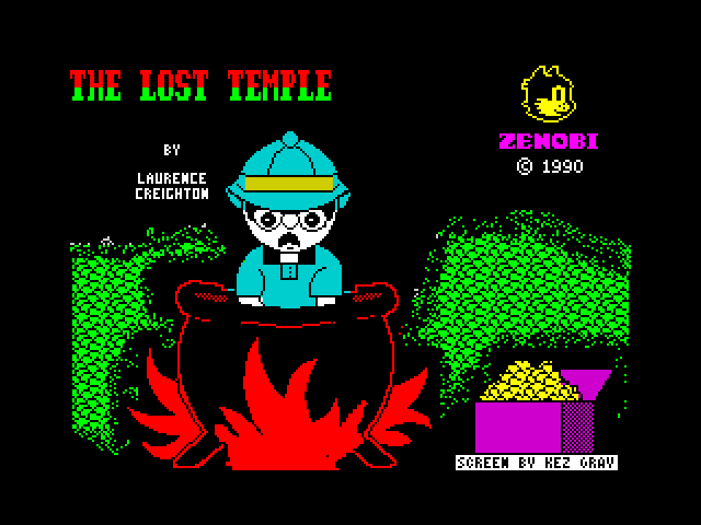 The Lost Temple image, screenshot or loading screen