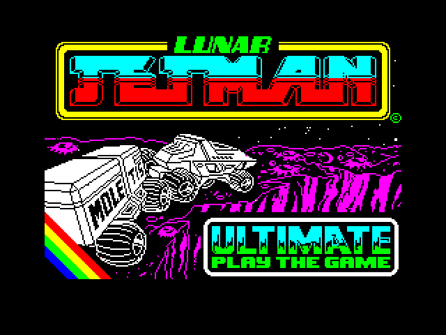 Lunar Jetman screenshot