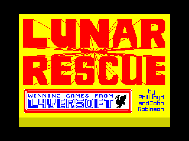 Lunar Rescue image, screenshot or loading screen