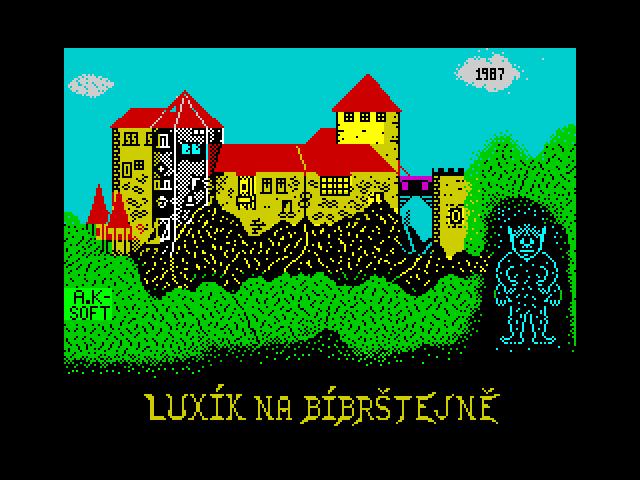 Luxik na Bibrstejne screenshot